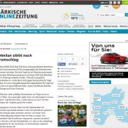 Rotmilan stirbt nach Stromschlag